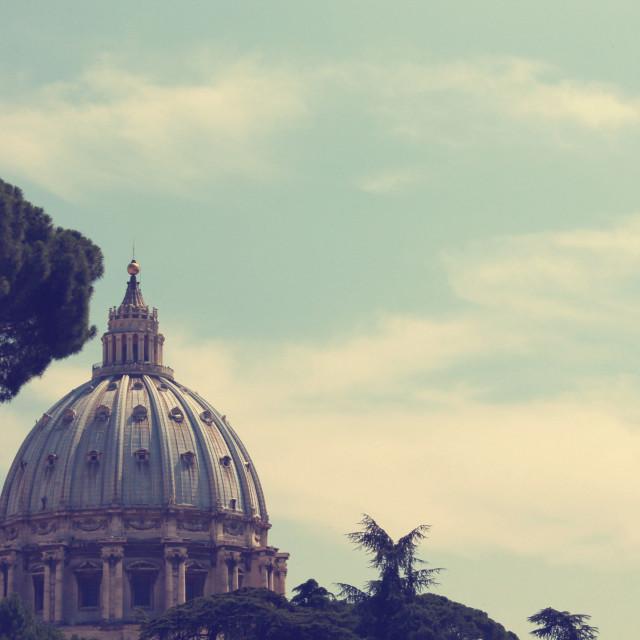 """""""Vatican Vista I"""" stock image"""