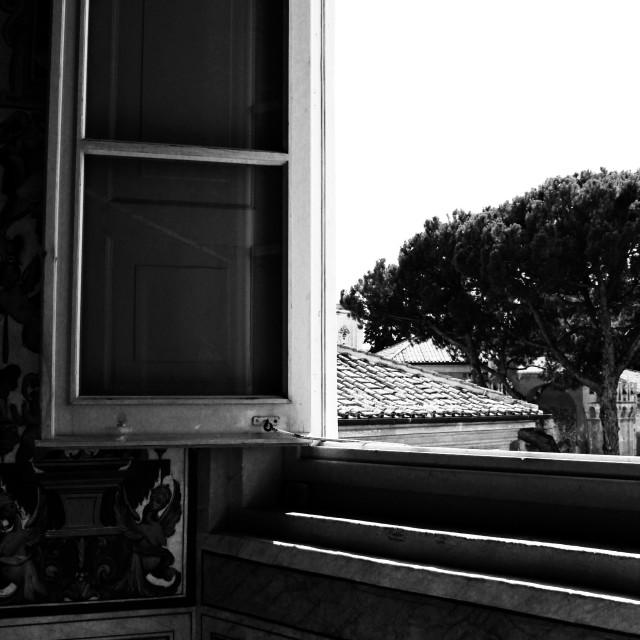 """Window, Vatican City I"" stock image"