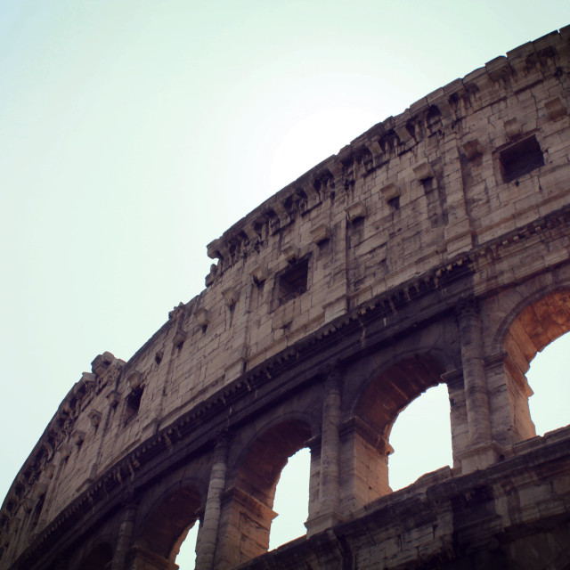 """Colosseum, Rome"" stock image"