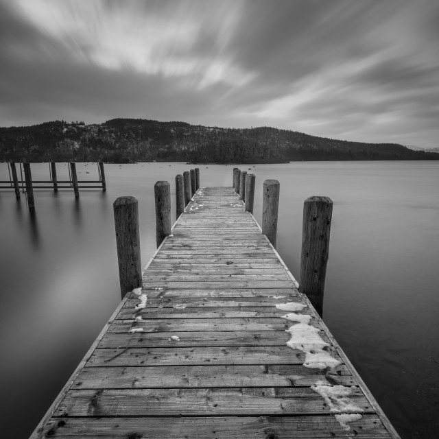 """Windermere Jetty"" stock image"