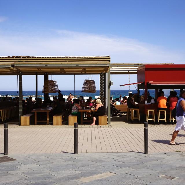 """Barcelona Beach"" stock image"