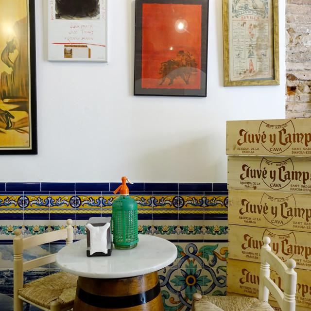 """Spanish restaurant"" stock image"