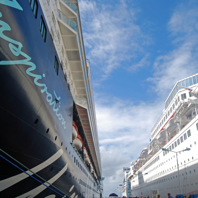 """Mein Schiff 2 & The Thomson Dream"" stock image"