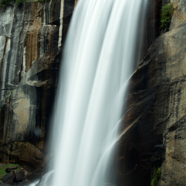 """Vernal Fall, Yosemite National Park"" stock image"