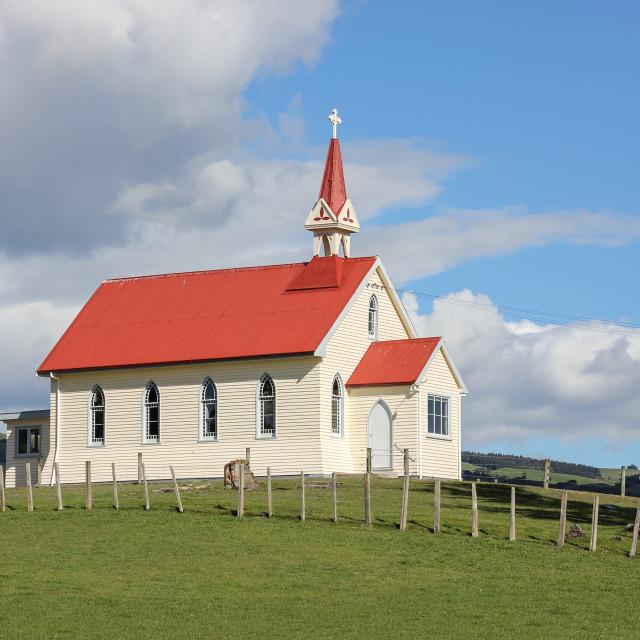 """Rural church"" stock image"