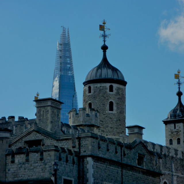 """Towers of London"" stock image"