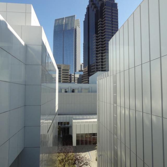 """Atlanta Skyline"" stock image"