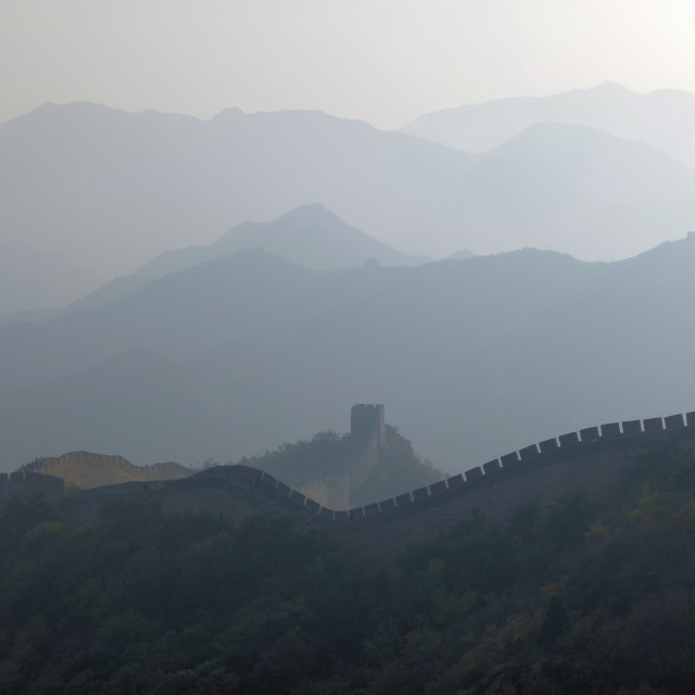 """""""Great Wall (nr 1)"""" stock image"""