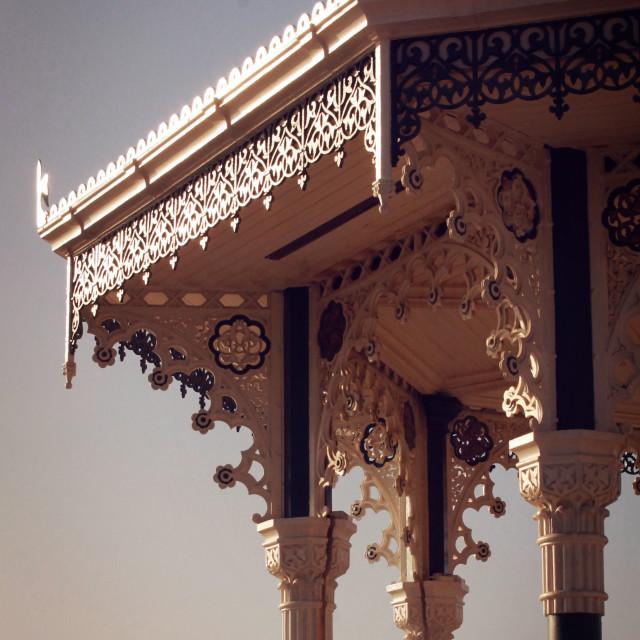 """""""Brighton Bandstand VI"""" stock image"""