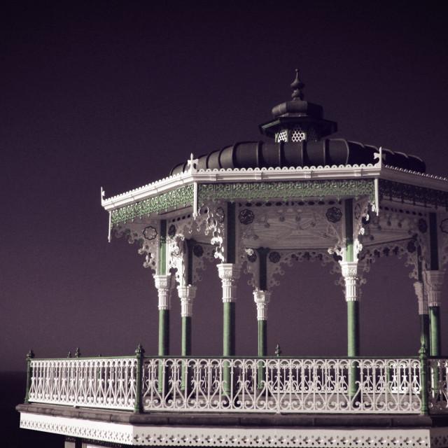 """Brighton Bandstand II"" stock image"