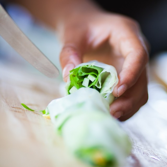 """Spring roll"" stock image"