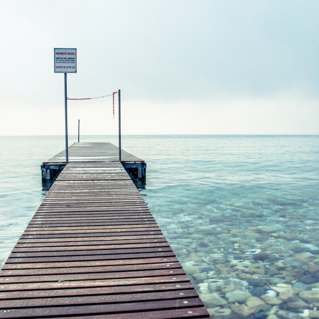 """The Jetty"" stock image"