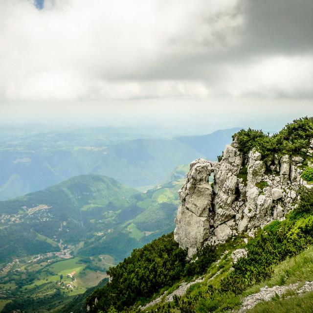 """Monte Baldo view"" stock image"