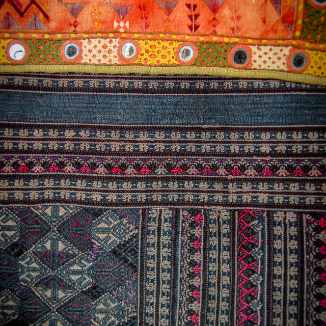 """""""Traditional Textiles"""" stock image"""