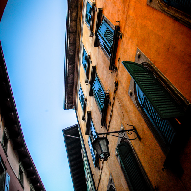 """Italian Alleyway"" stock image"