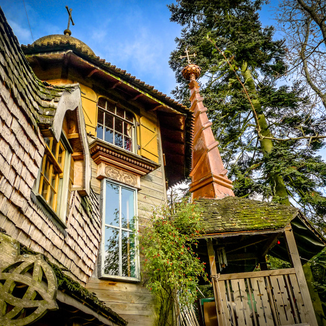 """Russian Dacha"" stock image"
