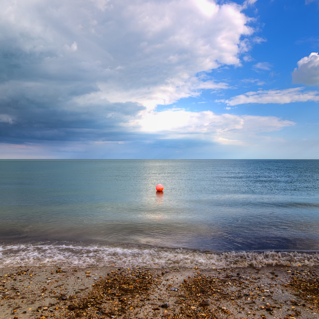"""Pagham Beach"" stock image"