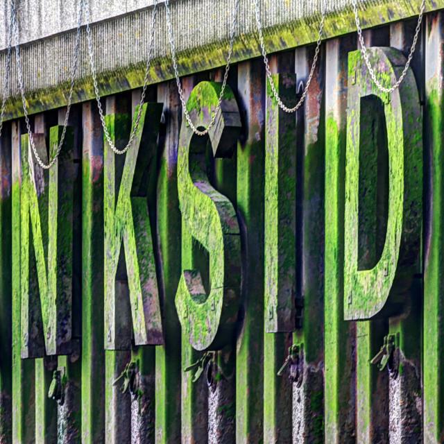 """Bankside"" stock image"