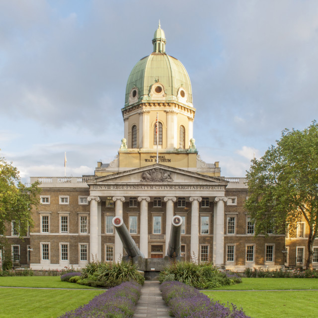 """Imperial War Museum, London"" stock image"