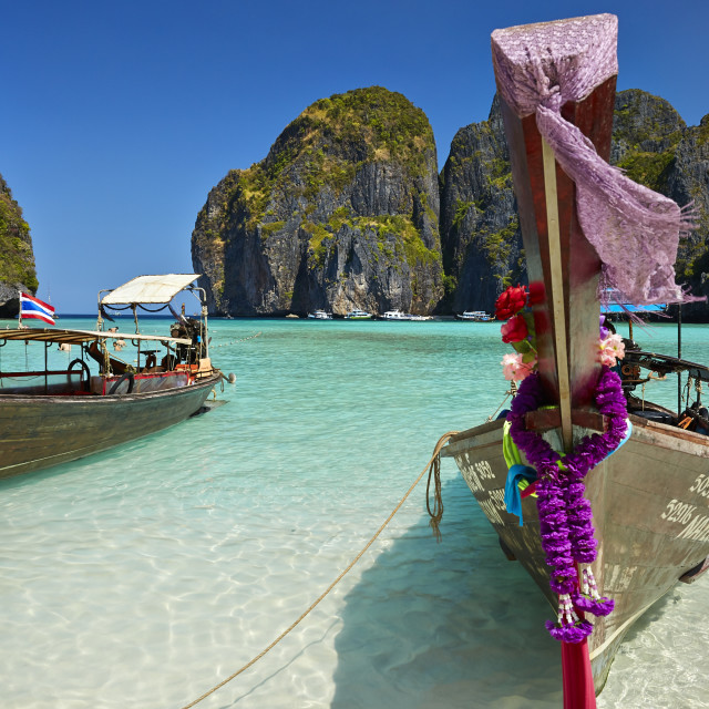 """Maya Bay beach"" stock image"