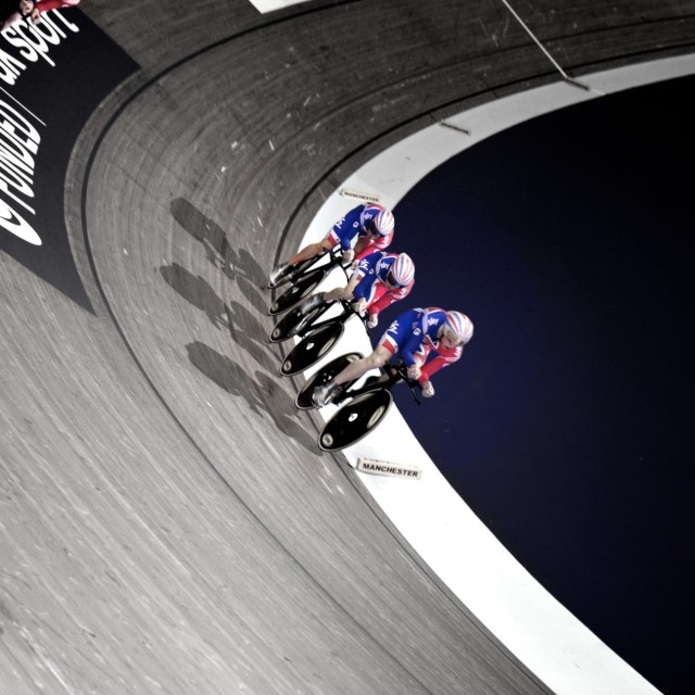 """Track cycling manchester"" stock image"