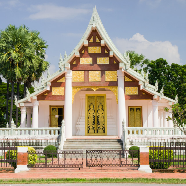 """Buddhist Temple in Thailand"" stock image"