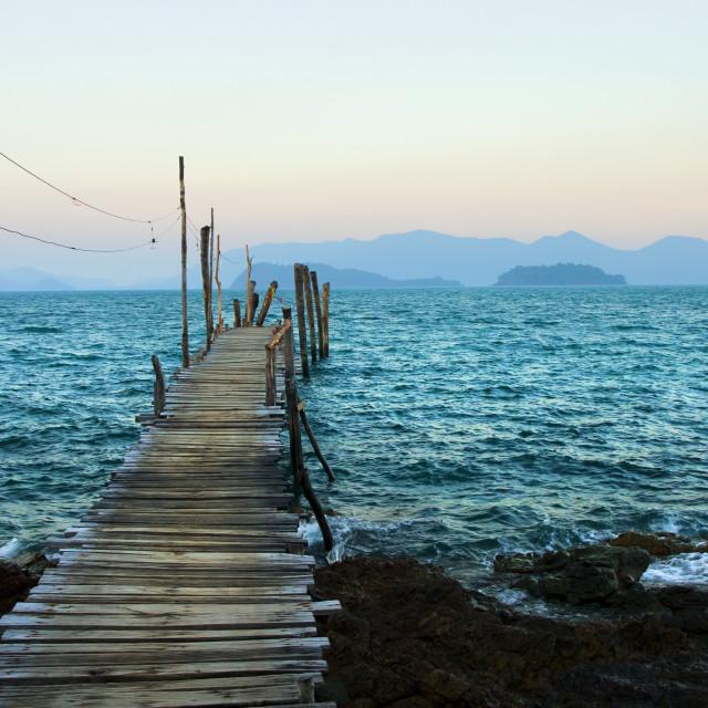 """Gulf of Thailand Scenery"" stock image"