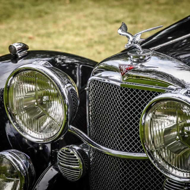 """Vintage Motorcar"" stock image"