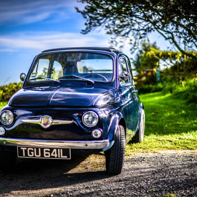 """Fiat 500"" stock image"