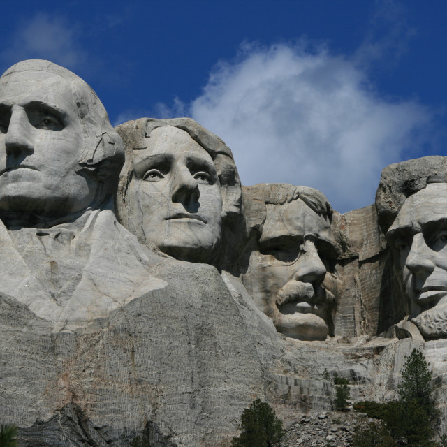 """Mount Rushmore"" stock image"