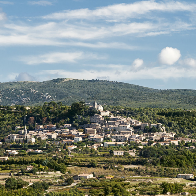 """Provencal Village"" stock image"