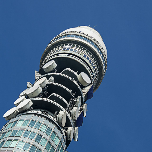 """Telecom Tower, London"" stock image"