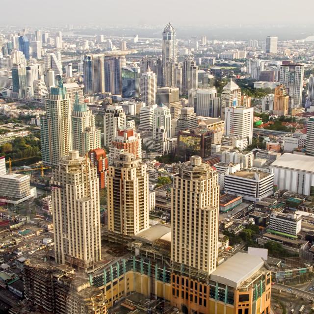 """""""Bangkok Metropolis in Thailand"""" stock image"""