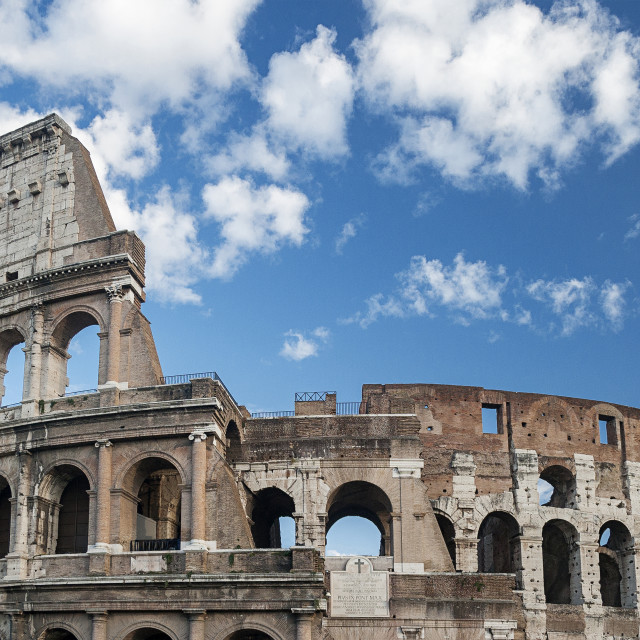 """Coliseum In Rome"" stock image"