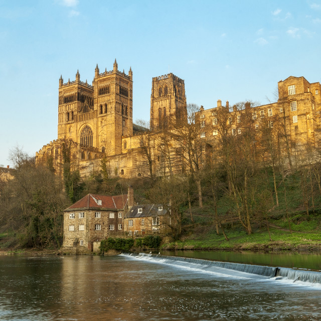 """""""Durham Cathedral , England"""" stock image"""