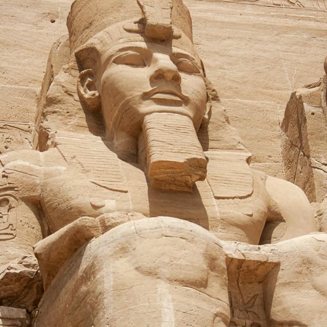 """The Great Temple, Abu Simbel , Egypt"" stock image"