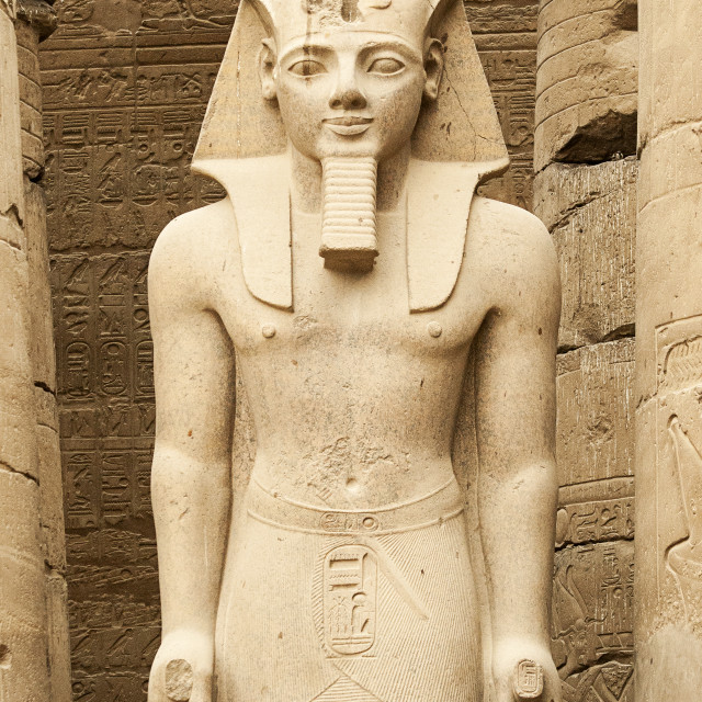 """Rameses II At Luxor Temple, Egypt"" stock image"