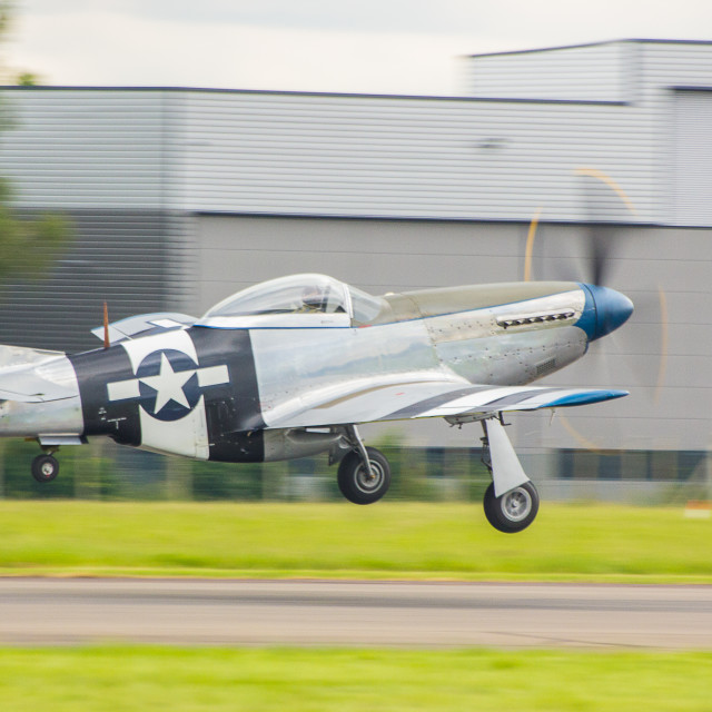 """P-51D mustang"" stock image"