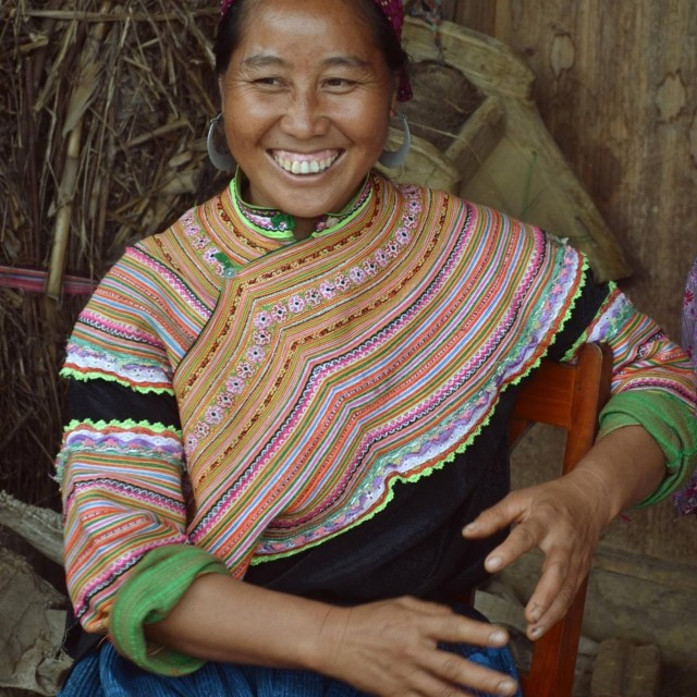 """Smiling in Sapa"" stock image"