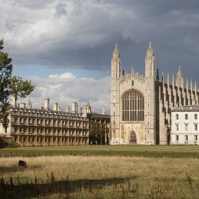 """""""Kings college cathedral"""" stock image"""