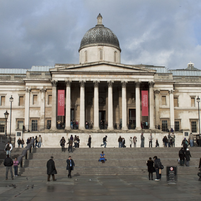 """National Gallery"" stock image"