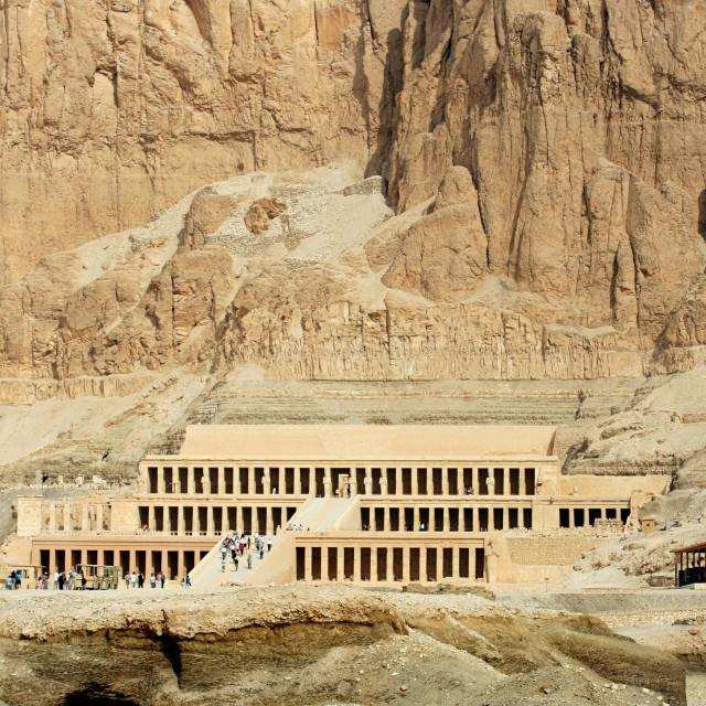 """""""Temple of Queen Hatshepsut"""" stock image"""