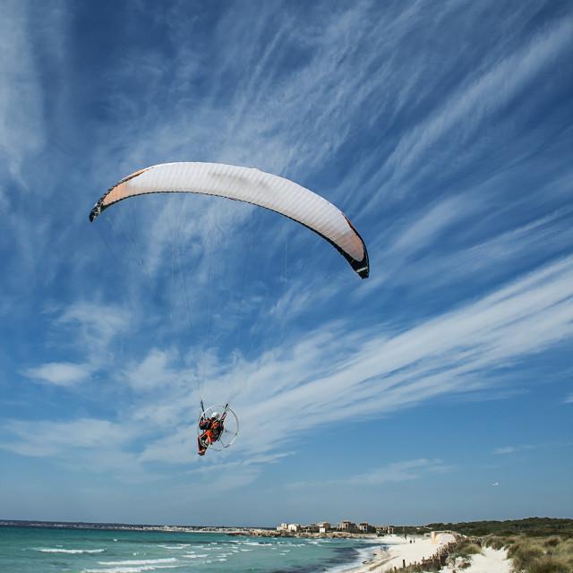 """Es Trenc Beach, Mallorca, Spain"" stock image"