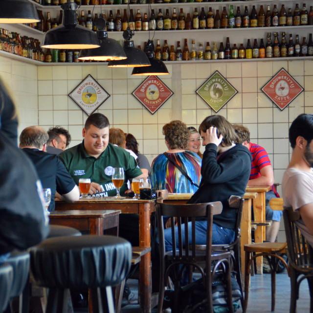 """""""Inside Brouwerij t'IJ (2)"""" stock image"""