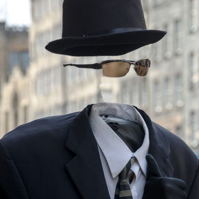 """Invisible Man"" stock image"