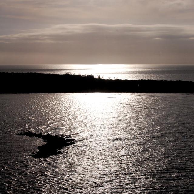"""""""Bahama Sunrise"""" stock image"""