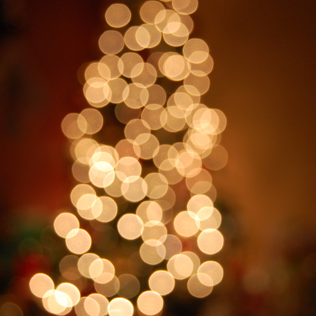"""Bokeh Tree"" stock image"