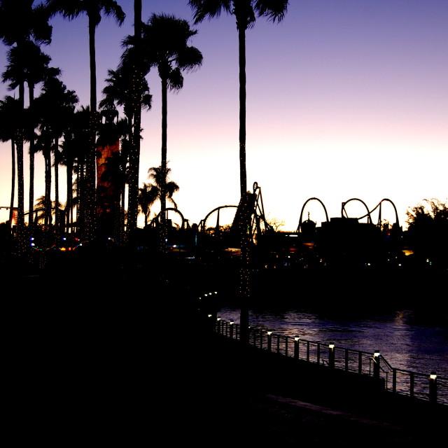 """Universal City Walk"" stock image"
