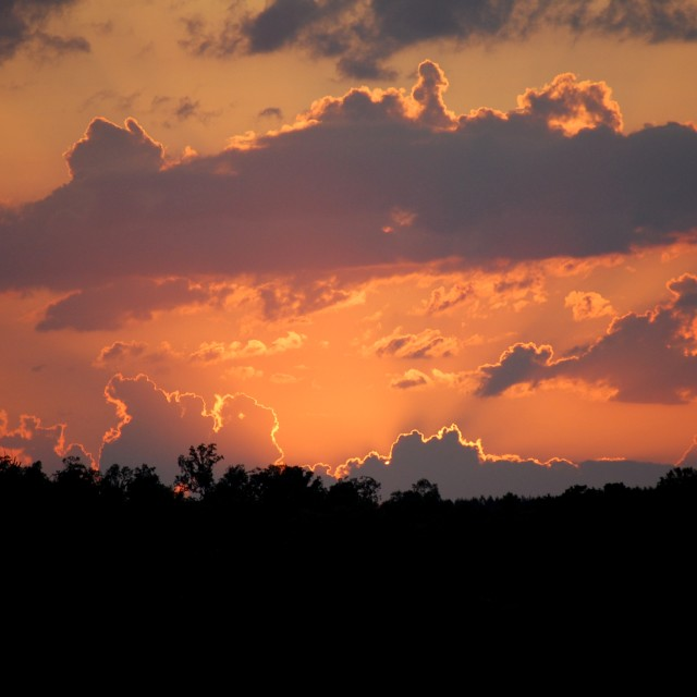 """""""Sunset in Alabaster"""" stock image"""