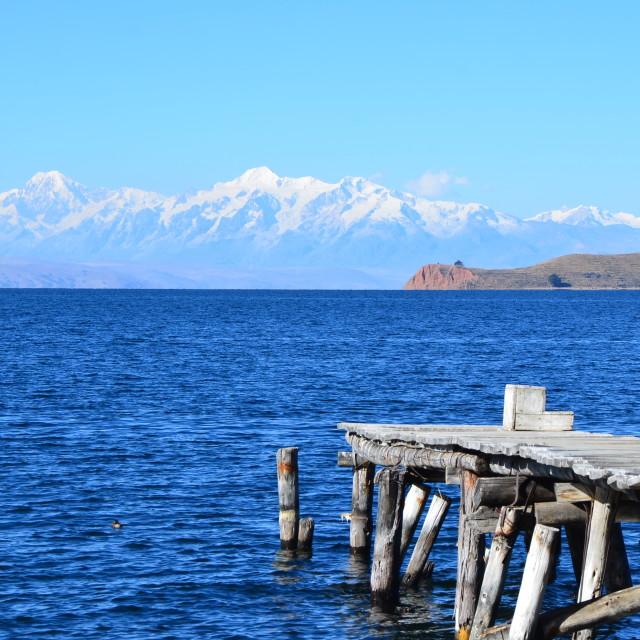 """Bolivian Paradise"" stock image"